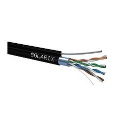 PLANET FTP Cat5E drôt vonkajší s lankom