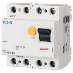 Prúdový chránič EATON PF6 40/4/003 286508