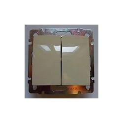Valena Vypínač č.5B IP44 béžový